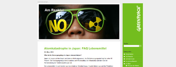 Screenshot - Greenpeace.de